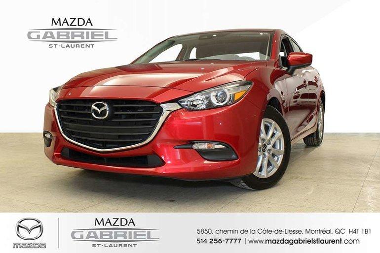 2018  Mazda3 SPORT GS + JAMAIS ACCIDENTE + SEULEMENT 15 800KM