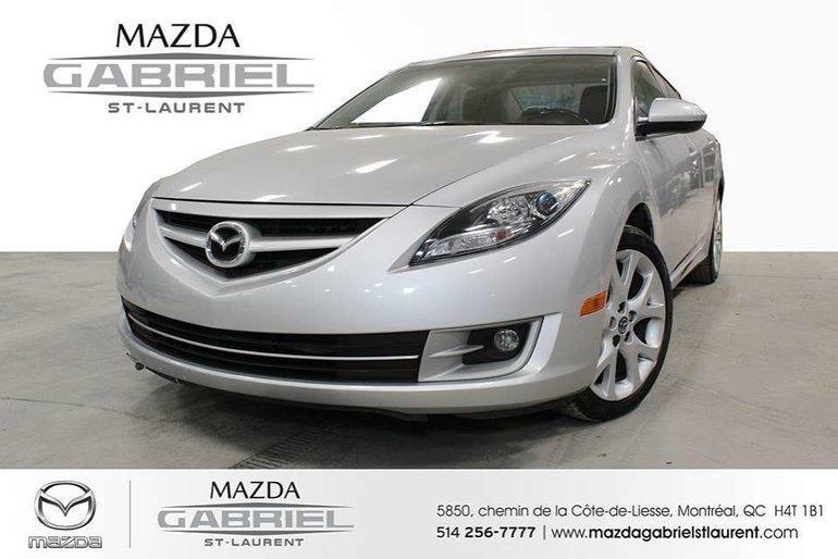 2013  Mazda6 GT + CUIR +  SEULEMENT 79 000KM + JAMAIS ACCIDENTE