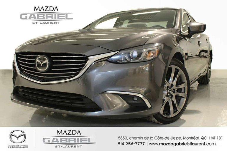 Mazda6 GT + CUIR +  JAMAIS ACCIDENTE + SEULEMENT UN PROPRIO 2017