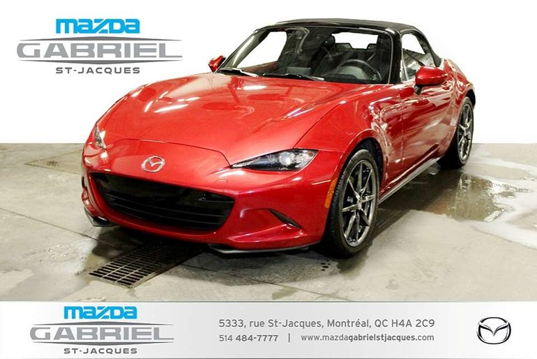 Mazda MX-5 Miata GT +BLUETOOTH+CRUISE+CUIR 2017