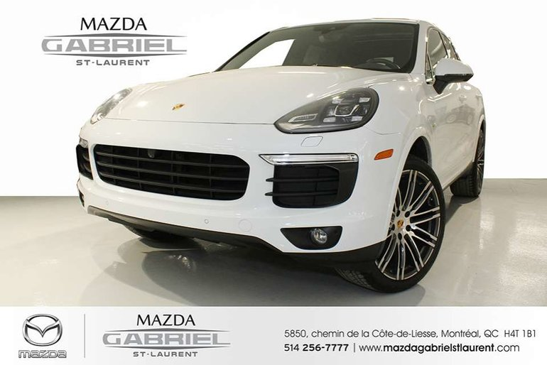 Porsche Cayenne Hybrid S Pre-owned vehicle 2017 Porsche Cayenne S E-Hybrid     Covered by the Porsche Approved Certified Pre-owned Limited Warranty 2017