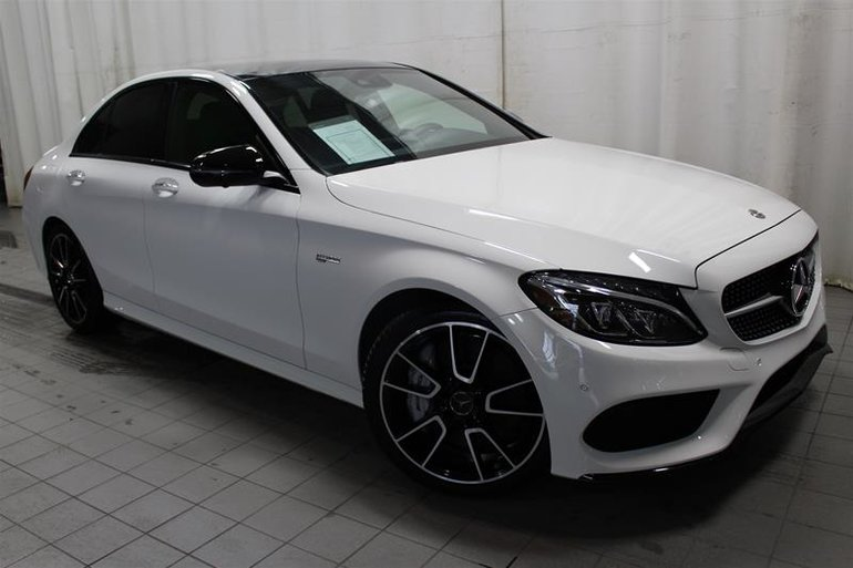 Pre Owned 2018 Mercedes Benz C43 Amg 4matic Sedan For Sale