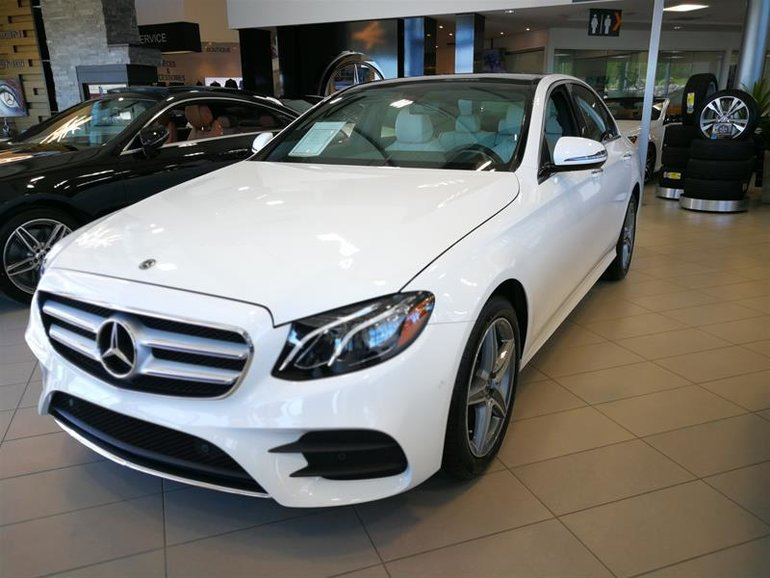 New 2018 Mercedes-Benz E300 4MATIC Sedan for sale - $64070 ...