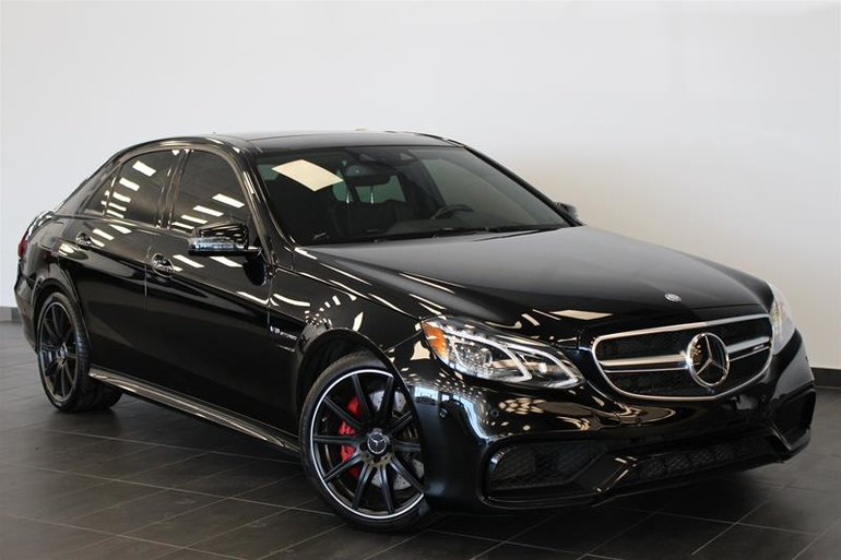 Pre Owned 2015 Mercedes Benz E63 Amg S Model 4matic Sedan For Sale