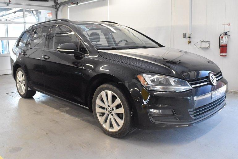 Volkswagen Golf Sportwagon Confortline 2015