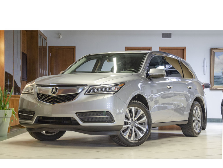 2016 Acura MDX **NAVI PKG*GPS*BLIND SPOT*ADAPTIVE CRUISE**