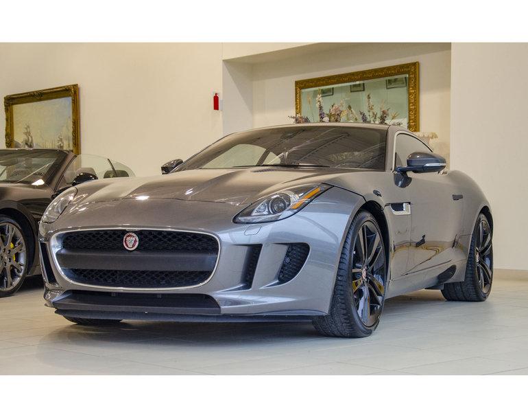 2017 Jaguar F-Type Coupe * Manuelle * Navigation * Sport Exhaust