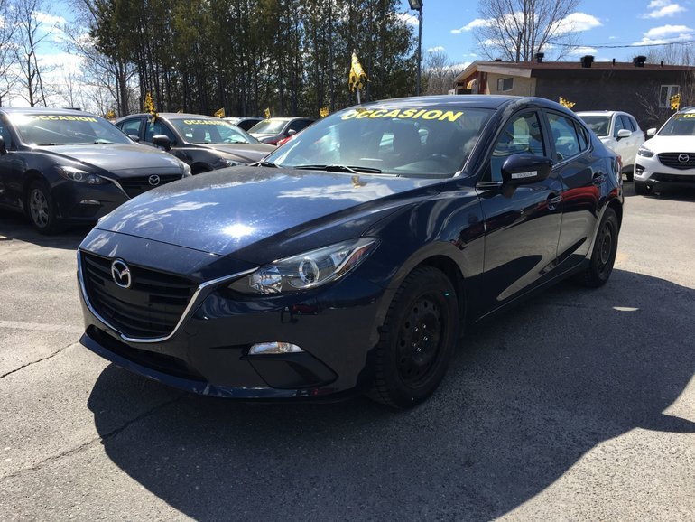 Mazda3 GS MANUELLE CARPROOF DISPO 2015