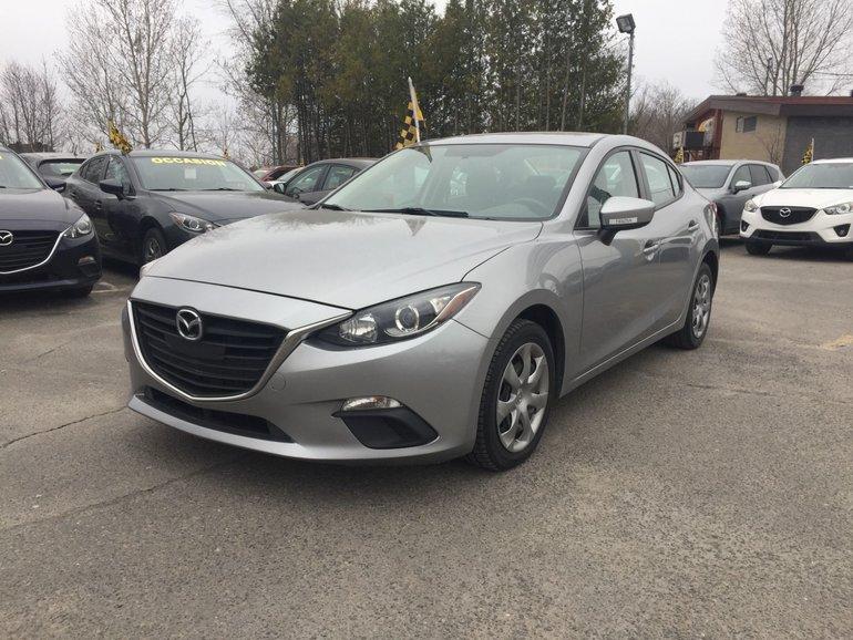 Mazda St Jerome >> Mazda Saint Jerome Pre Owned 2015 Mazda3 Gx Carfax