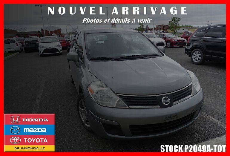 2008 Nissan Versa S* CLIMATISEUR* MAGS*