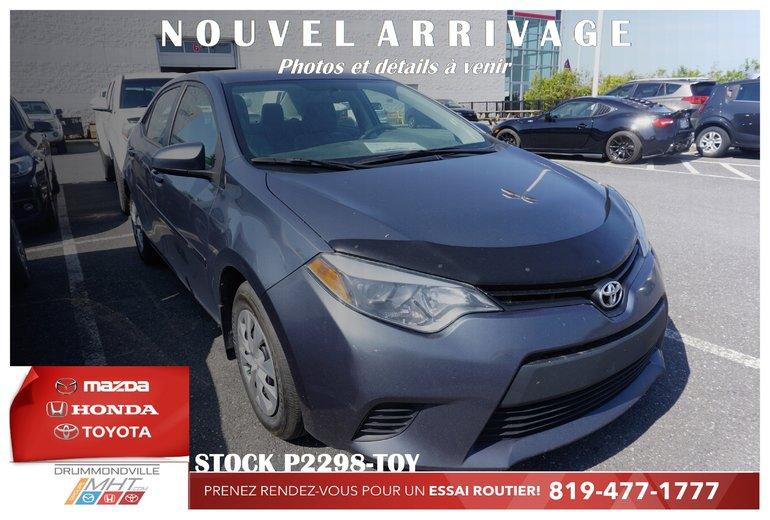 Toyota Corolla BLUETOOTH* GROUPE ELECTRIQUE* 1 PROPRIO* 2014