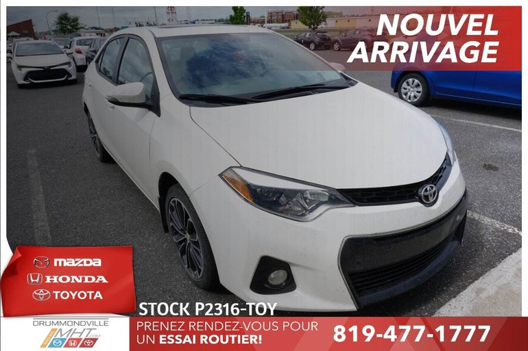 2016 Toyota Corolla SPORT* TOIT OUVRANT* MAGS*