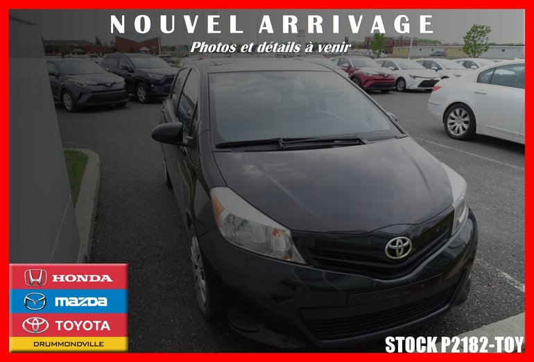 2014 Toyota Yaris LE* CLIMATISEUR* CRUISE* BLUETOOTH*