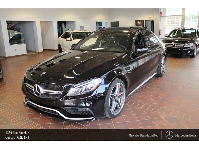 2016 Mercedes-Benz C-Class C63S AMG, toit pano, navi, caméra, Sirius