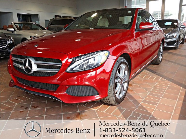 2018 Mercedes-Benz C-Class C 300 Panoramique, Navigation, LED