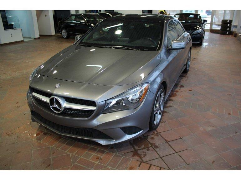 2015 Mercedes-Benz CLA-Class CLA250 4MATIC, toit pano, navi