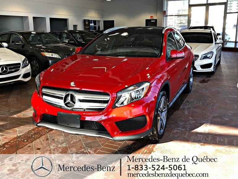 2016 Mercedes-Benz GLA-Class GLA250 4MATIC, cam recul, toit pano, navi.