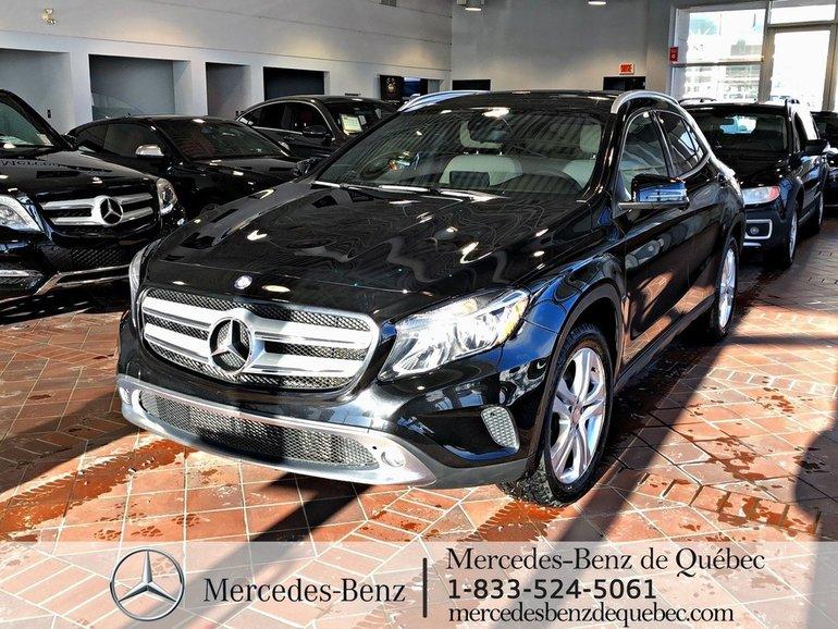 2016 Mercedes-Benz GLA-Class GLA250 4MATIC, clim 2 zones.