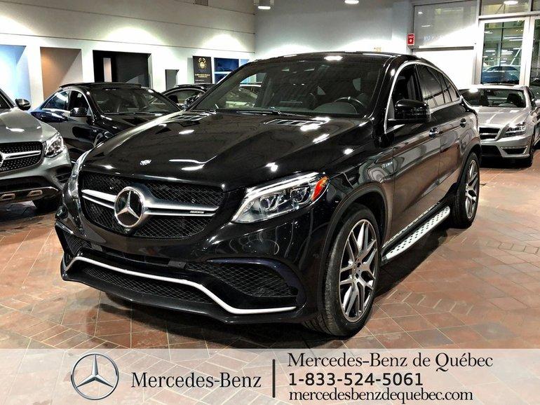 2016 Mercedes-Benz GLE-Class GLE63S 4MATIC, parktronic, toit pano, cam 360,navi