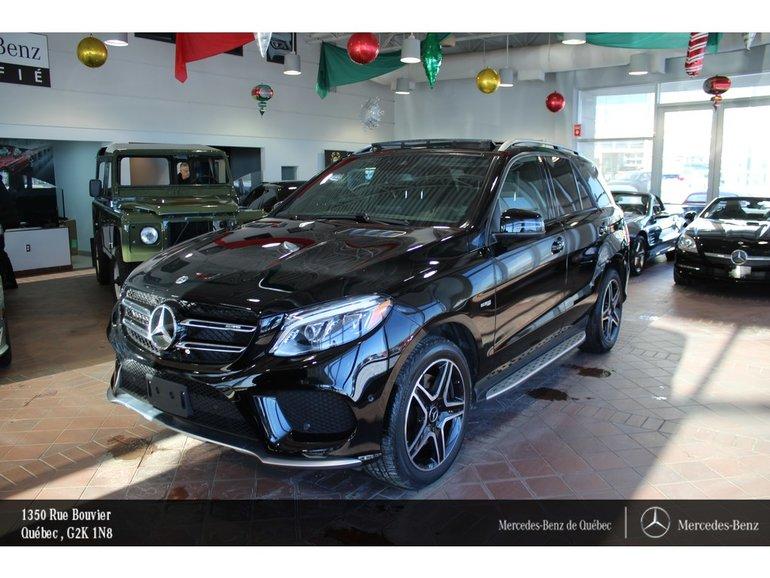 2018 Mercedes-Benz GLE-Class GLE43 AMG 4MATIC, toit pano, cam 360, navi, sirius
