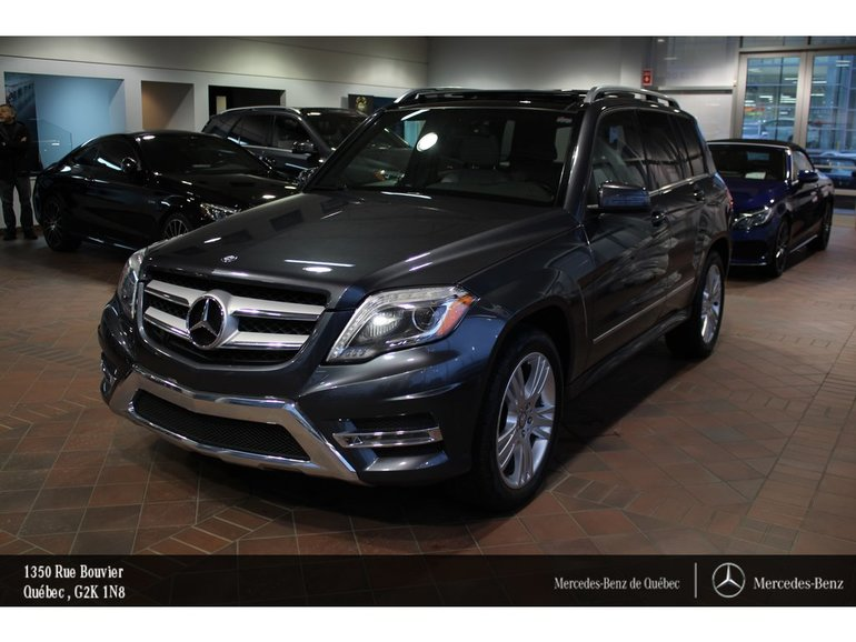 2015 Mercedes-Benz GLK-Class GLK250BT 4MATIC, toit pano, navi, caméra