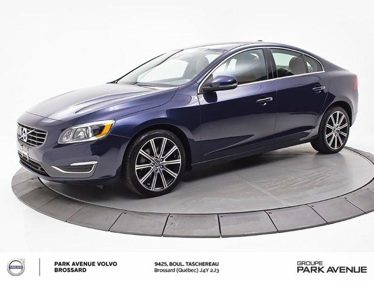 2015 Volvo S60 T6 Premier Plus | TECH+CONVENIENCE+BEECHWOOD