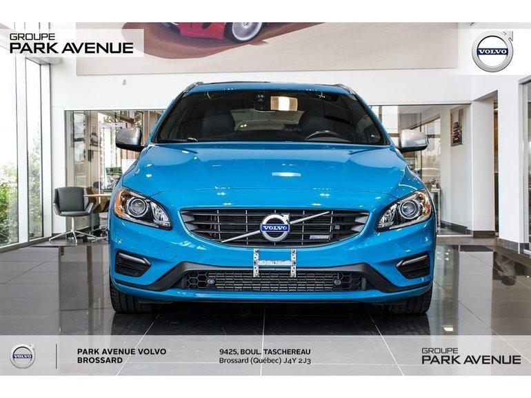 Volvo V60 T6 R-Design Polestar Certifié + Garantie ! 2015