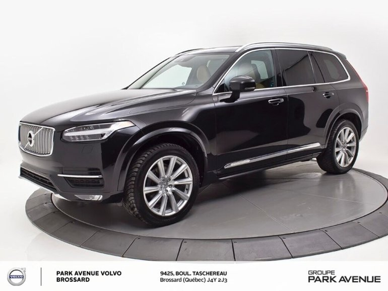Volvo XC90 T6 Inscription | VISION + CLIMAT | INT. AMBRE 2016