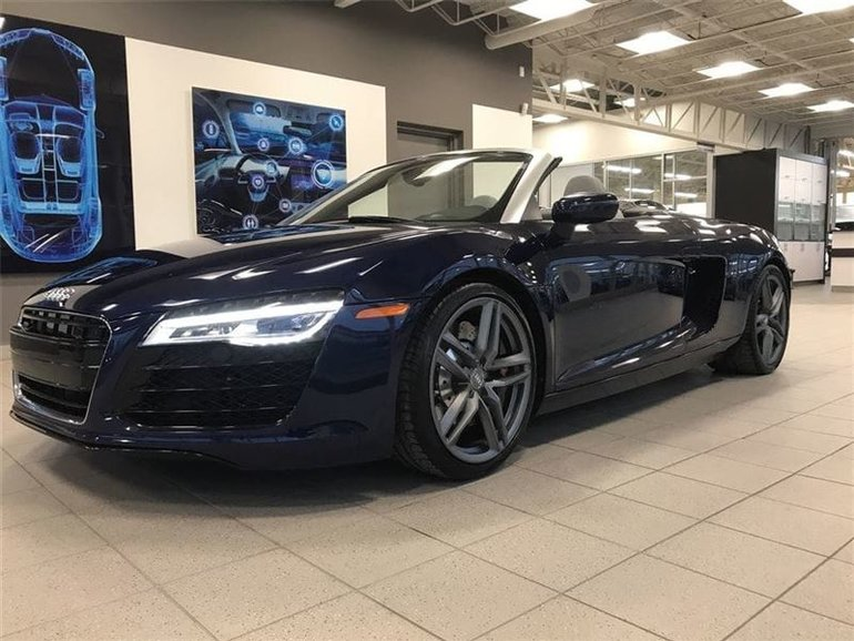 pre owned 2014 audi r8 vendu sold for sale 132 995 s. Black Bedroom Furniture Sets. Home Design Ideas