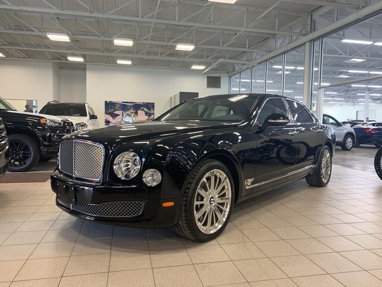 preowned 2016 bentley mulsanne mulliner exwarranty until