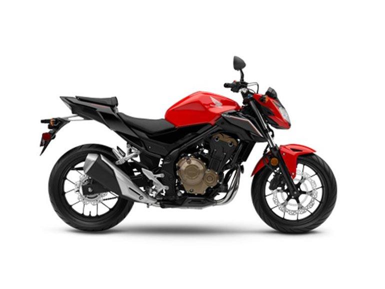 2017 Honda CB500F ABS CB500FAH
