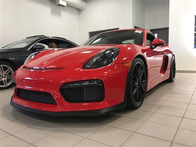 porsche cayman gt4 2016 d 39 occasion vendre 134 995 s h leasing. Black Bedroom Furniture Sets. Home Design Ideas