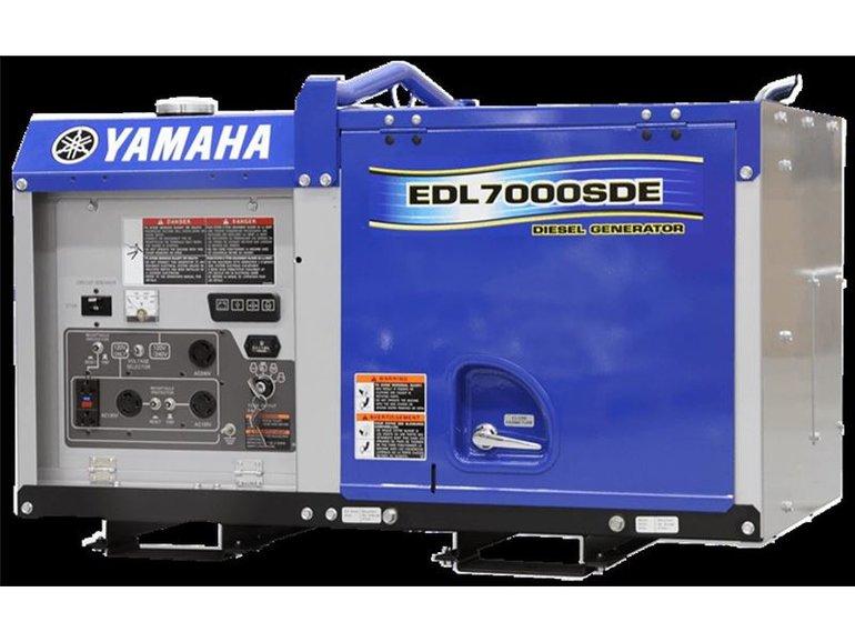Yamaha EDL7000SDE DIESEL 2019
