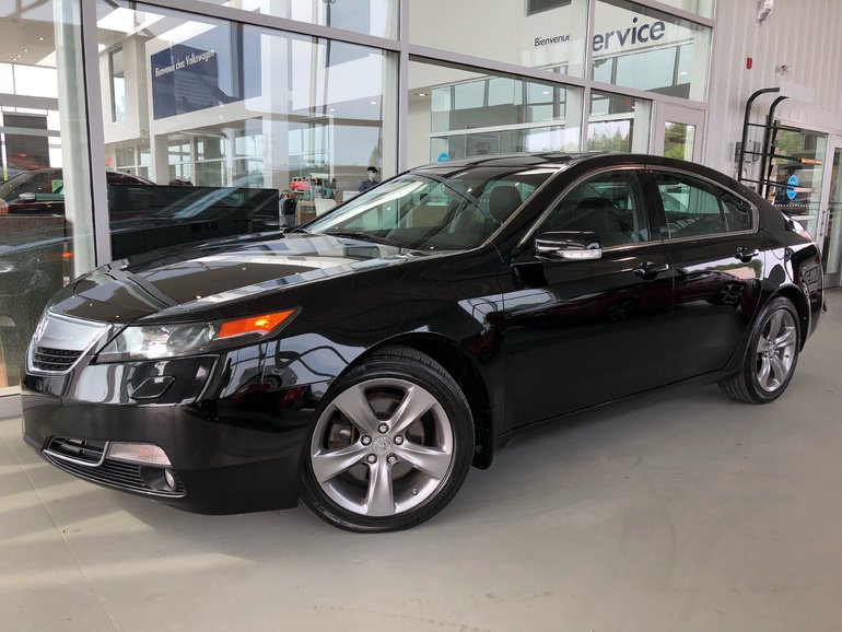 used 2014 acura tl sh-awd black 87,519 km for sale - $18666.0