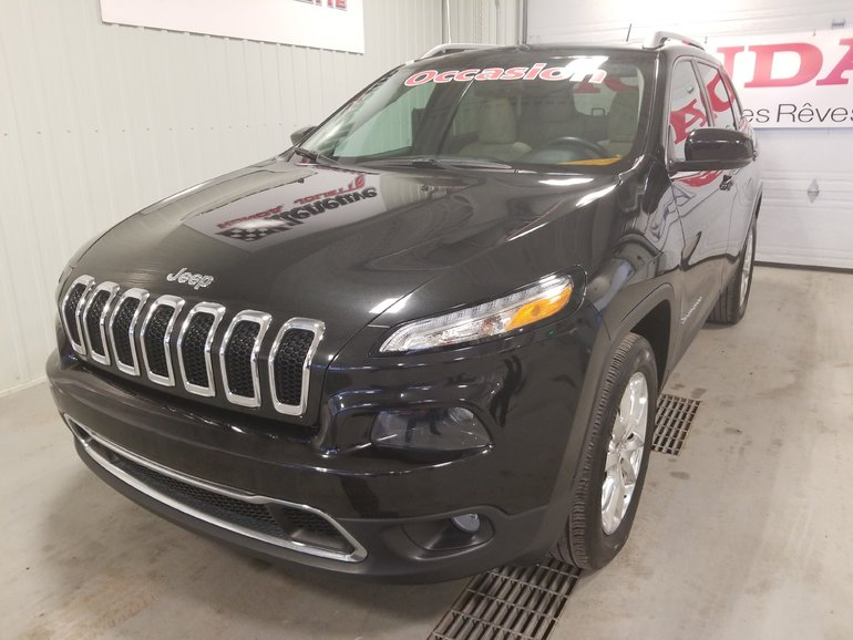 Jeep Cherokee Limited full toit cuir bluetooth 2015