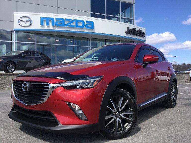 Mazda CX-3 GT   4RM   TOIT   CUIR   BOSE 2016