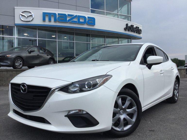 Mazda3 GX | Manuelle | Garantie illimitée 2015