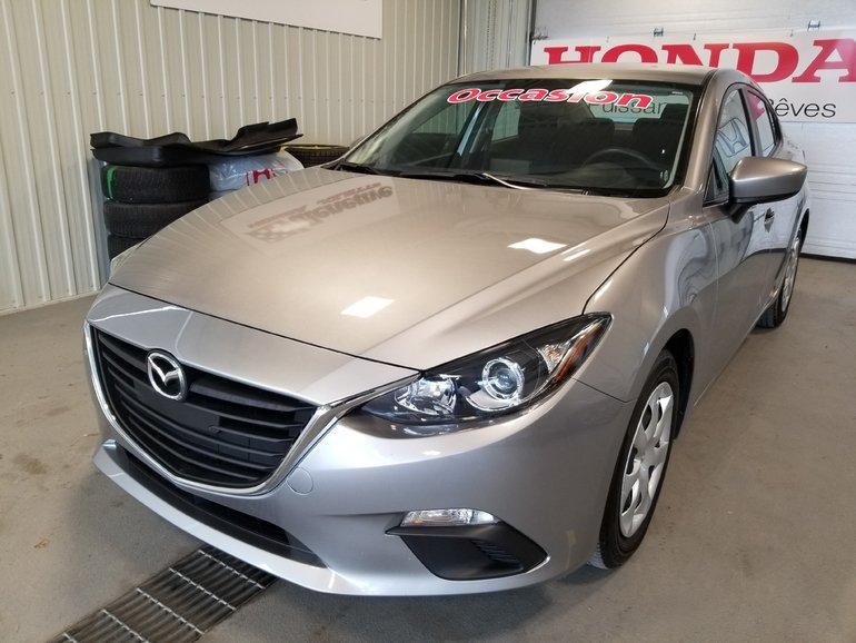 Mazda Mazda3 GX manuelle full bluetooth 2016