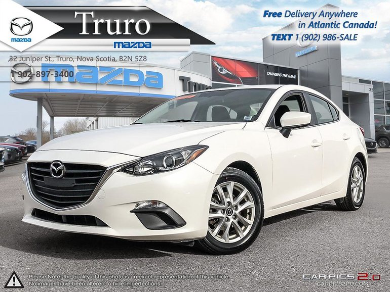 2014 Mazda Mazda3 $55/WK TAX IN! GS! AUTO! REVERSE CAM! BLUETOOTH!