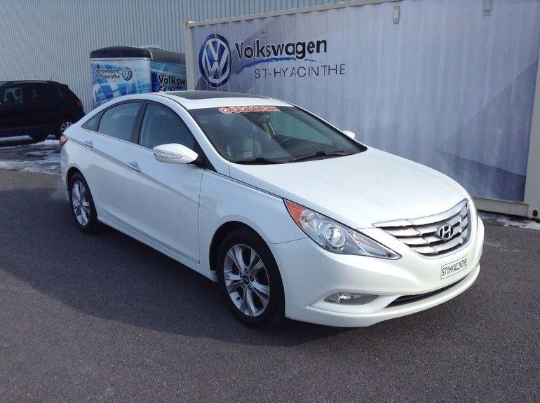 2011 Hyundai Sonata Limited+NAVIGATION+CUIR+TOIT+INSPECTÉ