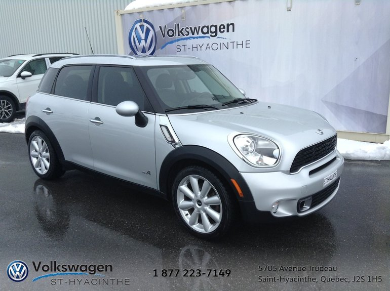 Used 2012 Mini Cooper Countryman Sall4traction Intégrale