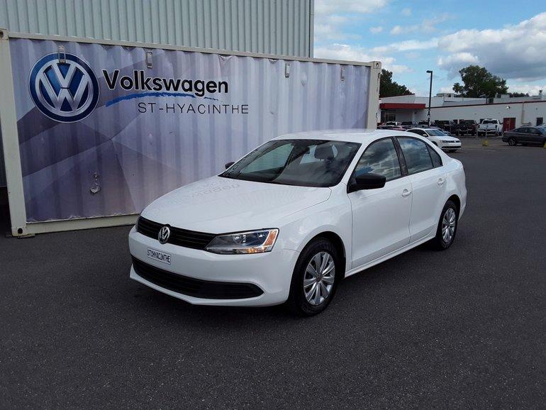 2013 Volkswagen Jetta Sedan TRENDLINE+BLUETOOTH+CRUISE+CLIMATISATION+AUTO
