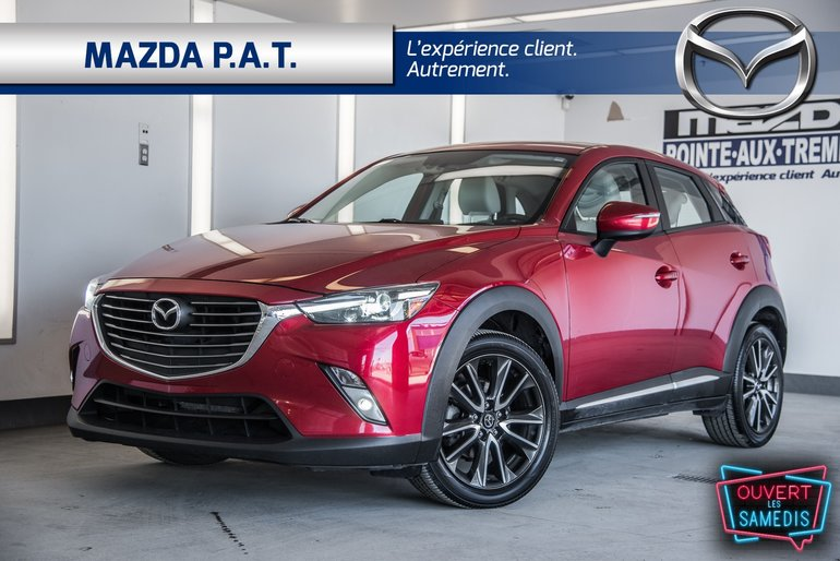 Mazda CX-3 GT AWD ** CUIR NAVIGATION TOIT OUVRANT ** 2016