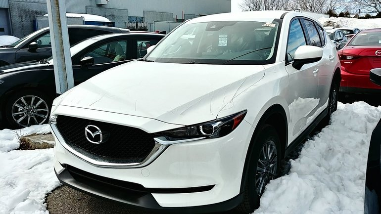 2018 Mazda CX-5 GX FWD ANGLE MORT, CAM. RECUL, MAGS 17''