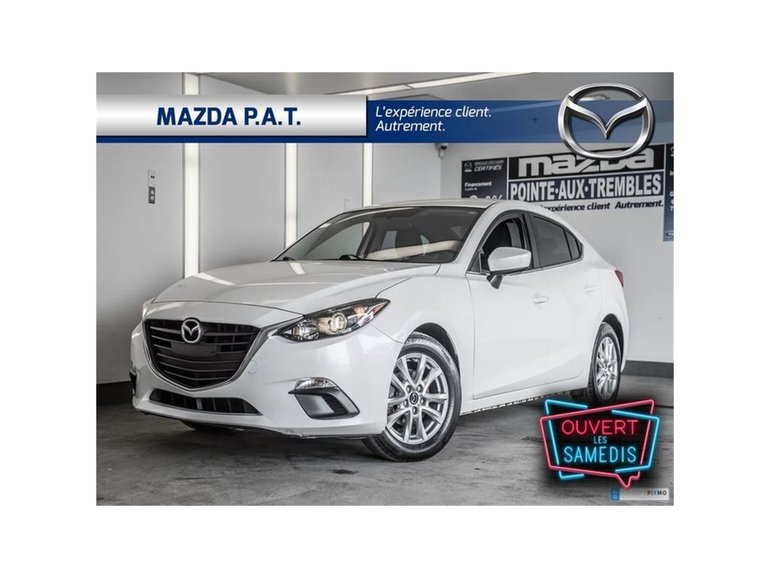 Mazda3 GS-SKY ** CAMERA RECUL BLUETOOTH ** 2015