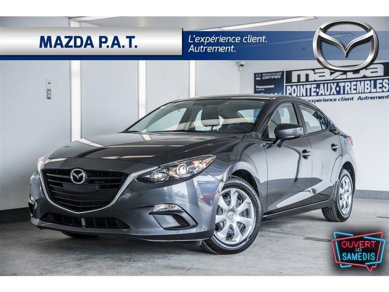 Mazda Mazda3 GX ** BLUETOOTH 48 316 KM ** 2015