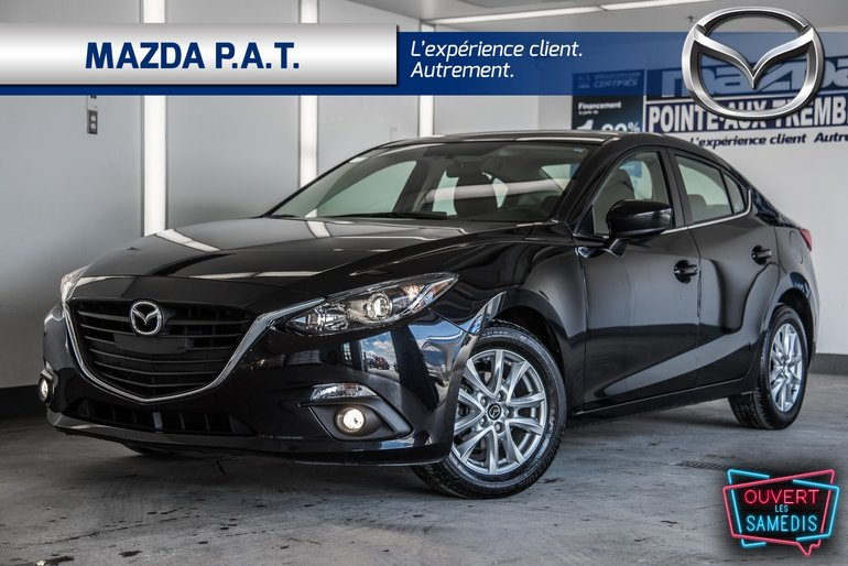 2015  Mazda3 GS +NAVIGATION + TOIT OUVRANT