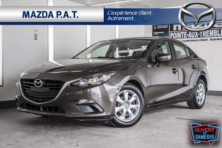 2015  Mazda3 GX+A/C