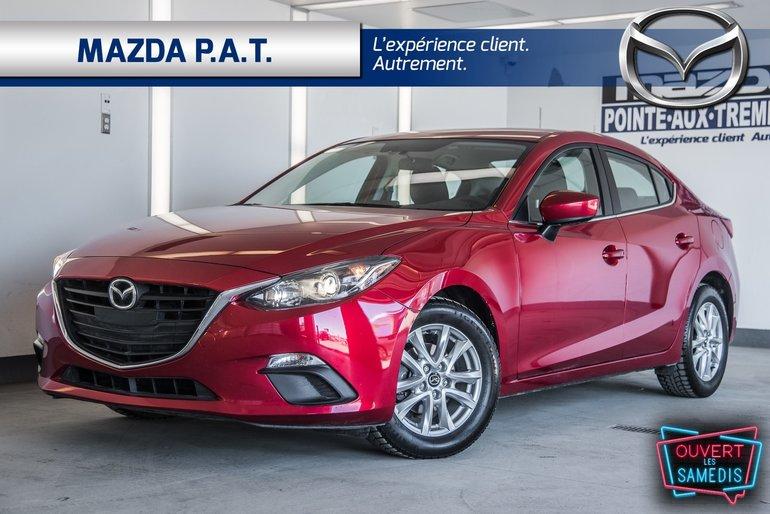 Mazda3 GS ** WOW NAVIGATION + SIEGE CHAUFFANT 2016
