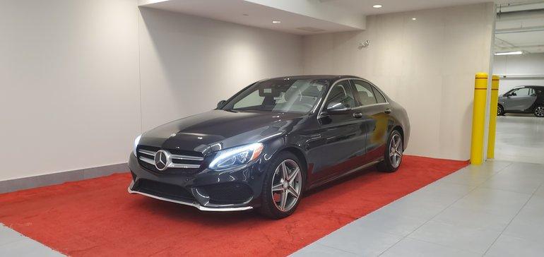 2016 Mercedes-Benz C-Class 300 4MATIC**15 000$ D'OPTIONS**